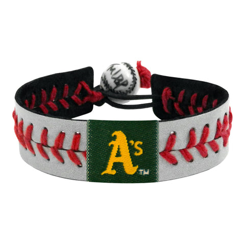Oakland Athletics Bracelet Reflective Baseball