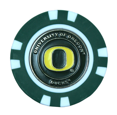 Oregon Ducks Golf Chip with Marker - Bulk