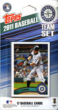 Seattle Mariners 2011 Topps Team Set -