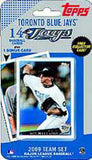 Toronto Blue Jays 2009 Topps Team Set -
