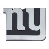 New York Giants Auto Emblem Premium Metal Chrome