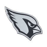 Arizona Cardinals Auto Emblem Premium Metal Chrome