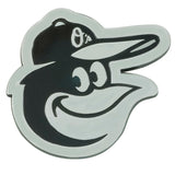 Baltimore Orioles Auto Emblem Premium Metal Chrome