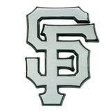 San Francisco Giants Auto Emblem Premium Metal Chrome