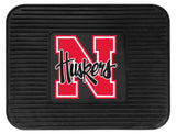 Nebraska Cornhuskers  Car Mat Heavy Duty Vinyl Rear Seat