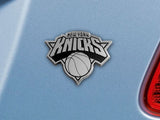 New York Knicks Auto Emblem Premium Metal FanMats