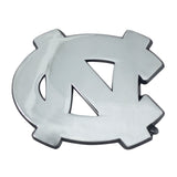 North Carolina Tar Heels Auto Emblem Premium Metal Chrome