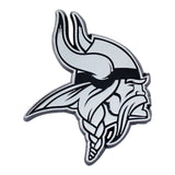 Minnesota Vikings Auto Emblem Premium Metal Chrome