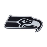Seattle Seahawks Auto Emblem Premium Metal Chrome