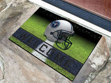 Tennessee Titans Door Mat 18x30 Welcome Crumb Rubber