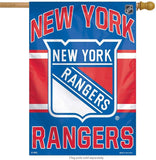 New York Rangers Banner 27x37 Vertical