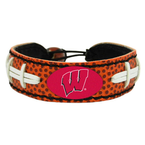 Wisconsin Badgers Bracelet Classic Football
