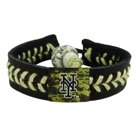 New York Mets Bracelet Baseball Camo