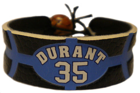 Oklahoma City Thunder Kevin Durant Team Color NBA Jersey Bracelet