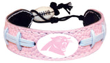 Carolina Panthers Bracelet Pink Football Alternate