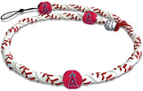 Los Angeles Angels Classic Frozen Rope Baseball Necklace