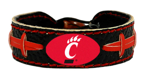 Cincinnati Bearcats Team Color Football Bracelet