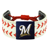 Milwaukee Brewers Classic Two Seamer Bracelet