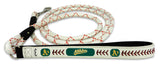 Oakland Athletics Baseball Leather Leash - L