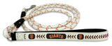 San Francisco Giants Baseball Leather Leash - M
