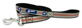 Milwaukee Brewers Reflective Baseball Leash - S