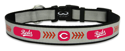 Cincinnati Reds Reflective Medium Baseball Collar