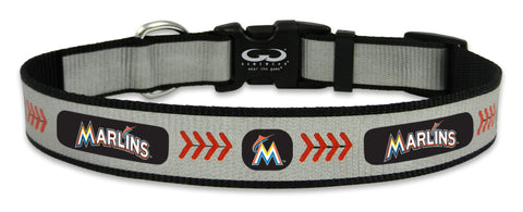 Miami Marlins Reflective Medium Baseball Collar