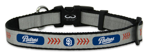 San Diego Padres Reflective Toy Baseball Collar