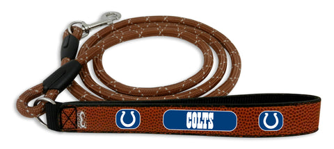 Indianapolis Colts Football Leather Leash - L
