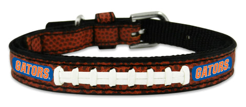 Florida Gators Classic Leather Toy Football Collar