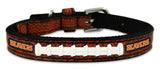 Oregon State Beavers Classic Leather Toy Football Collar