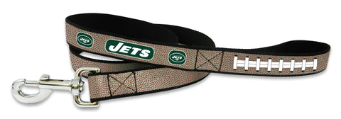 New York Jets Pet Leash Reflective Football Size Large