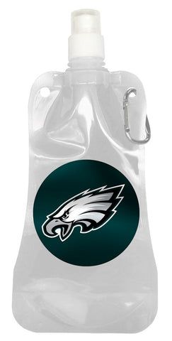 Philadelphia Eagles 16 ounce Foldable Water Bottle
