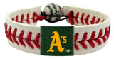 Oakland Athletics Classic Baseball Bracelet