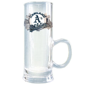 Oakland Athletics Glass Cordial