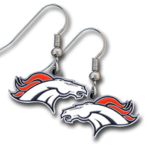 Denver Broncos Dangle Earrings
