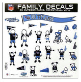 Tennessee Titans Decal 11x11 Family Sheet Special Order