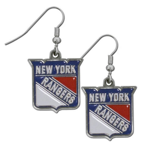 New York Rangers Dangle Earrings