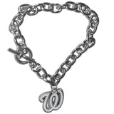 Washington Nationals Bracelet Chain Link Style