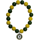 Oakland Athletics Bracelet Bead Style