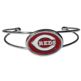 Cincinnati Reds Bracelet Double Bar Cuff