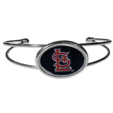 St. Louis Cardinals Bracelet Double Bar Cuff