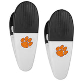 Clemson Tigers Chip Clips 2 Pack