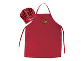Louisville Cardinals Apron and Chef Hat Set