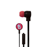 St. Louis Cardinals Big Logo Ear Buds