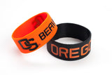 Oregon State Beavers Bracelets - 2 Pack Wide