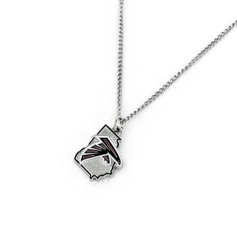 Atlanta Falcons Necklace State Design Special Order