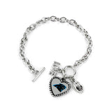 Carolina Panthers Bracelet Charmed Sport Love Football
