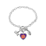 Clemson Tigers Bracelet Charmed Sport Love Football