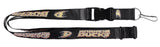 Anaheim Ducks Lanyard Black